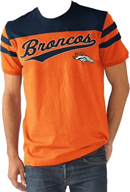 broncos throwback t shirt