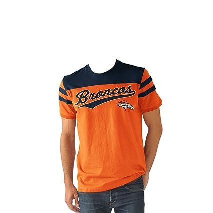 cd5c161bb Amazon.com   Denver Broncos Men s Throwback Jersey Style Fashion T ...