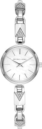 Michael Kors Jaryn Mercer Three-Hand Stainless Steel Watch
