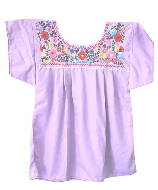 5dbea2996645e Liliana Cruz Embroidered Mexican Peasant Blouse (2X