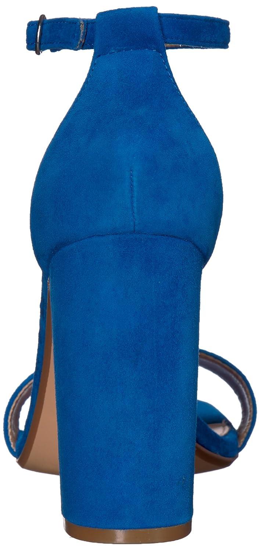 Steve Madden Women's Carrson Dress Sandal B078NN8QRF 8.5 B(M) US|Sea Blue