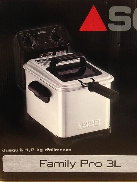 Seb - Freidora fr500000 Family Pro 3L: Amazon.es: Hogar