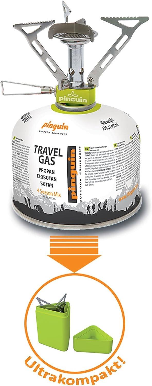 Hornillo de gas Hiker Mini para camping, senderismo, exterior, gas, cocina plegable