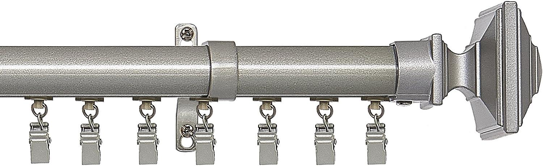 Achim Home Furnishings Oxford Innovative Traverse Rod, 66 to 120
