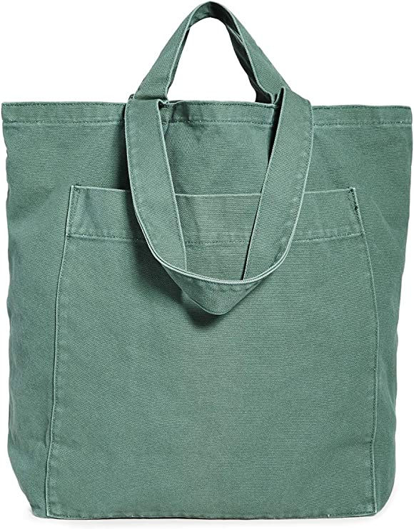 DURAGADGET Tan-Brown Large Sized Canvas Carry Bag with Multiple Pockets /& Customizable Interior Compartment iO4 Mini Projector Compatible with iOCHOW iO2 Mini Projector