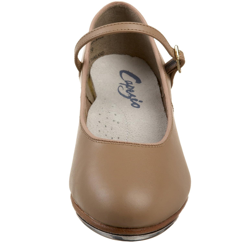 Capezio Women's Tap Jr. Footlight Tap Shoe B002CO3ORS 4.5 B(M) US|Caramel