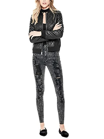 Amazon Com Babubala Stylish Pretty Women S Geena Faux Leather