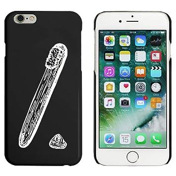 Azeeda Negro Cepillo de Dientes y Pasta Funda / Carcasa para iPhone 6 y