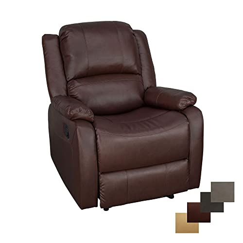RecPro Charles Collection 30 Zero Wall RV Recliner Wall Hugger Recliner RV Living Room Slideout Chair RV Furniture RV Chair Mahogany