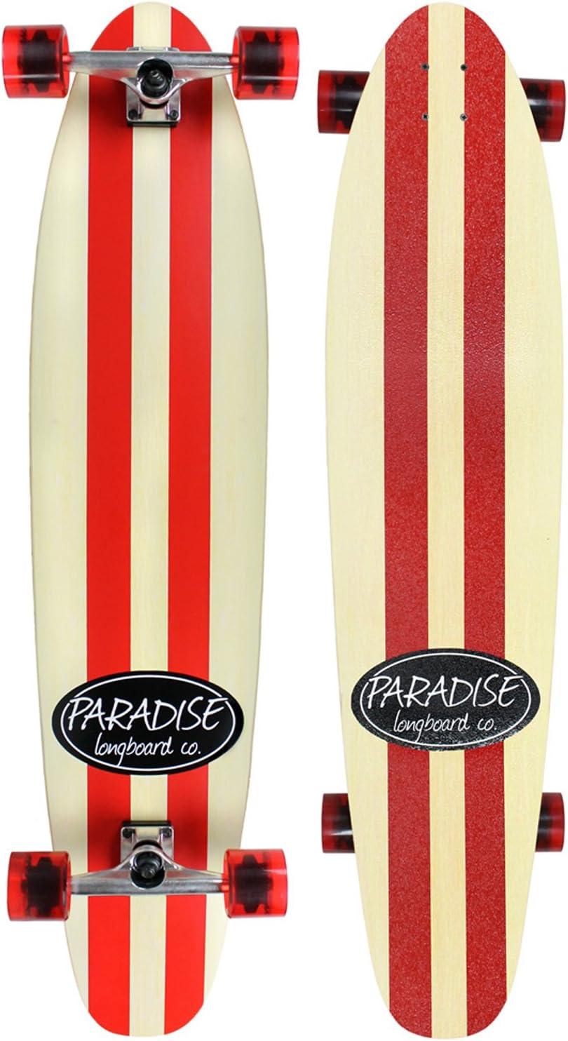 PARADISE Stripe Complete Longboard