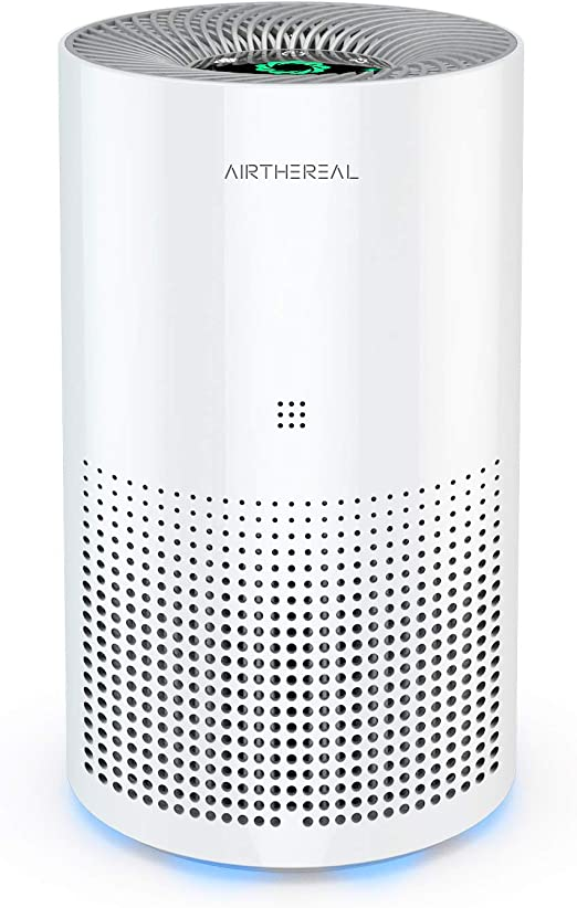 Airthereal ADH80 Air Purifier with True HEPA for Car, Desktop and Home - Auto Control plus Air Quality Monitor