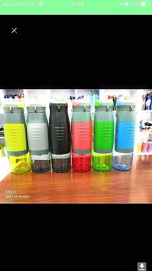 S&S Botella con compartimiento de almacenamiento integrado. Botella ...