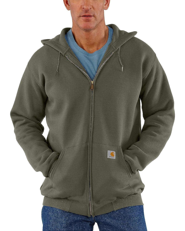 Carhartt Mens Midweight Hooded Zip-Front Sweatshirt