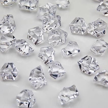 Amazon Welmatch Clear Acrylic Ice Rock Crystals Treasure Gems