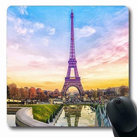 Amazon Com Mousepads For Computers Tourist Eifel Eiffel
