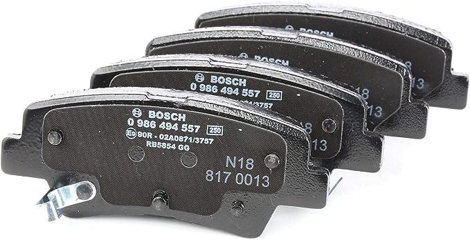 Bosch 0 986 494 557 Bremsbeläge Auto
