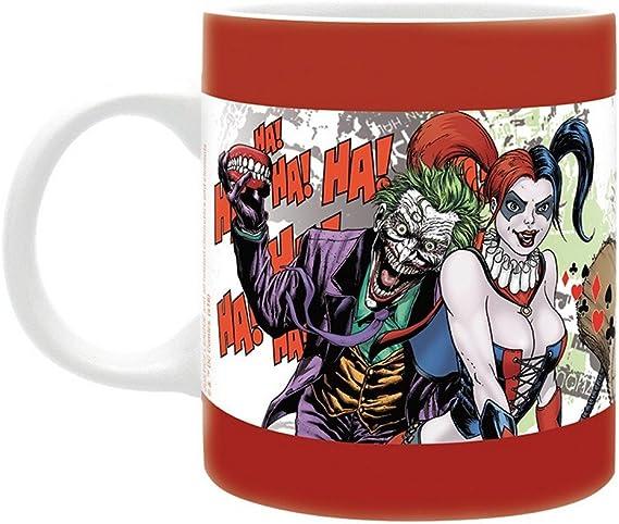 Taza de cerámica con diseño de Harley Quinn de Suicide Squad DC Comics: Amazon.es: Hogar