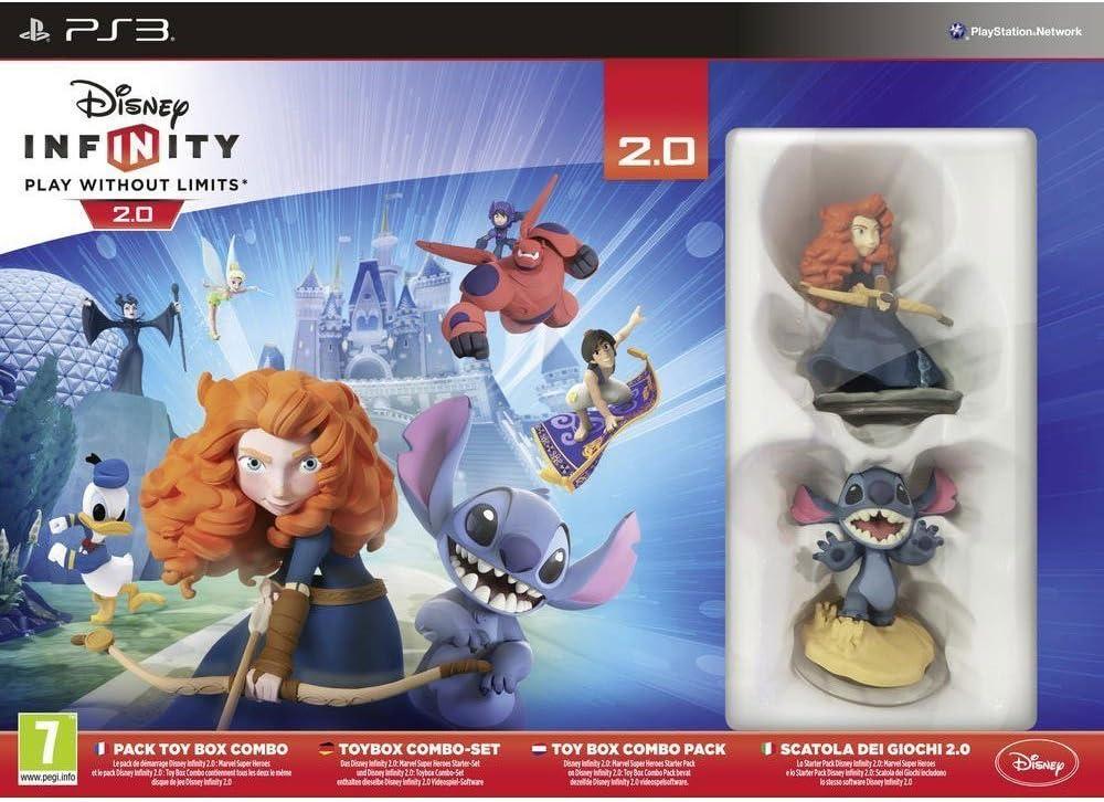 Namco Bandai Games - Disney Infinity 2: Pack de inicio PS3: Amazon.es: Juguetes y juegos