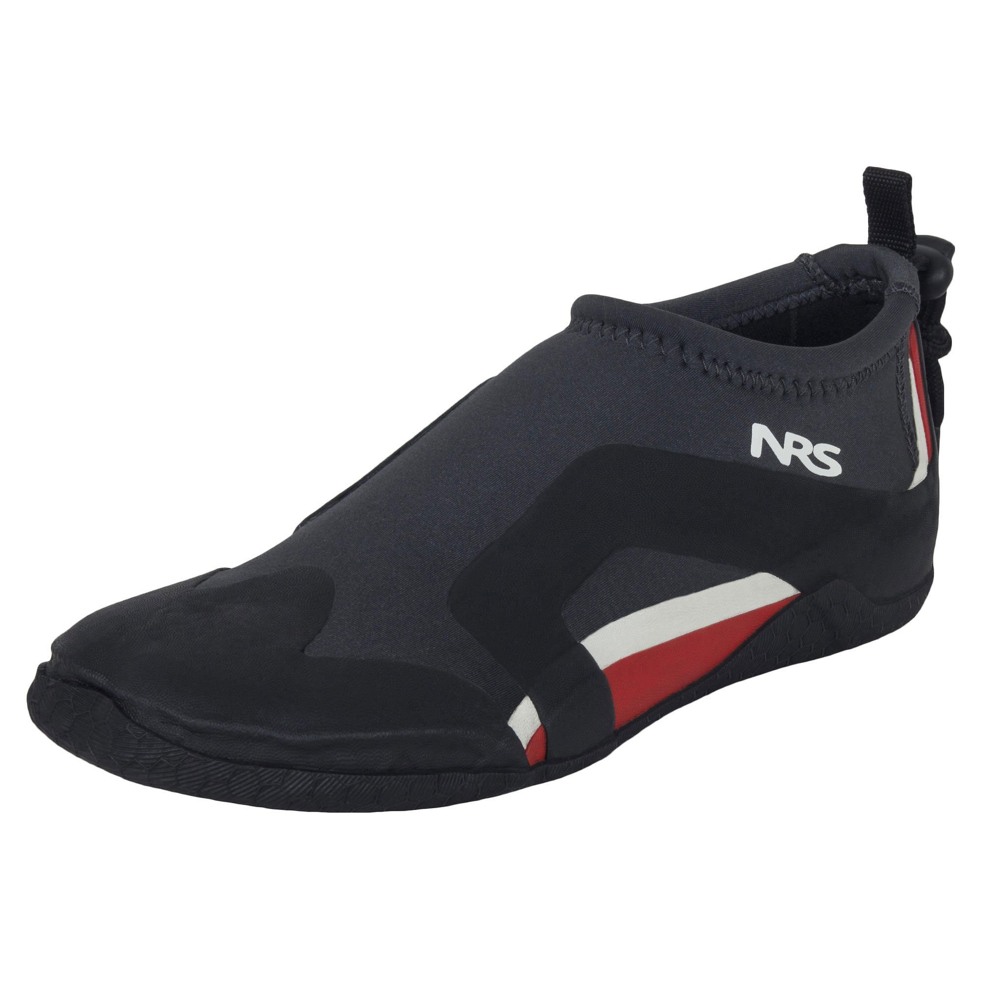 NRS Kinetic Water Shoe - Men's, Black/Red, 6, 30042.01.101 by NRS