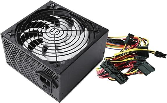 600 W, 230 V, Passif, 28 W, 25 A, 22 A Ewent EW3905 unit/é dalimentation d/énergie 600 W ATX Noir Unit/és dalimentation d/énergie