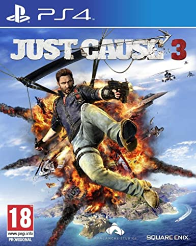 Square Enix Just Cause 3 PS4 Básico PlayStation 4 Alemán vídeo ...
