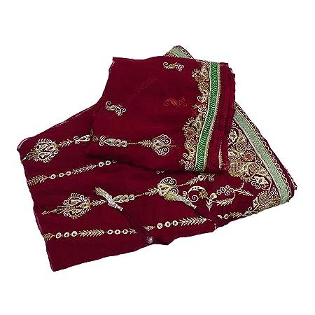 PEEGLI Falda Lehenge De La Vendimia India Vestido De Boda De Las ...