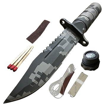 8,5 cm cuchillo al aire libre Camping lista de verificación ...