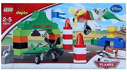 Amazon.com: LEGO 10510 Duplo La Course Aérienne de ...