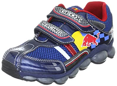 be6c945523 Geox Jr Tuono Red Bull Trainers Boys Blue Blau (blue C4000) Size: 5 ...