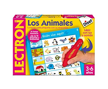 Diset Lapiz Los Lectron 63883 Animales n0POkw