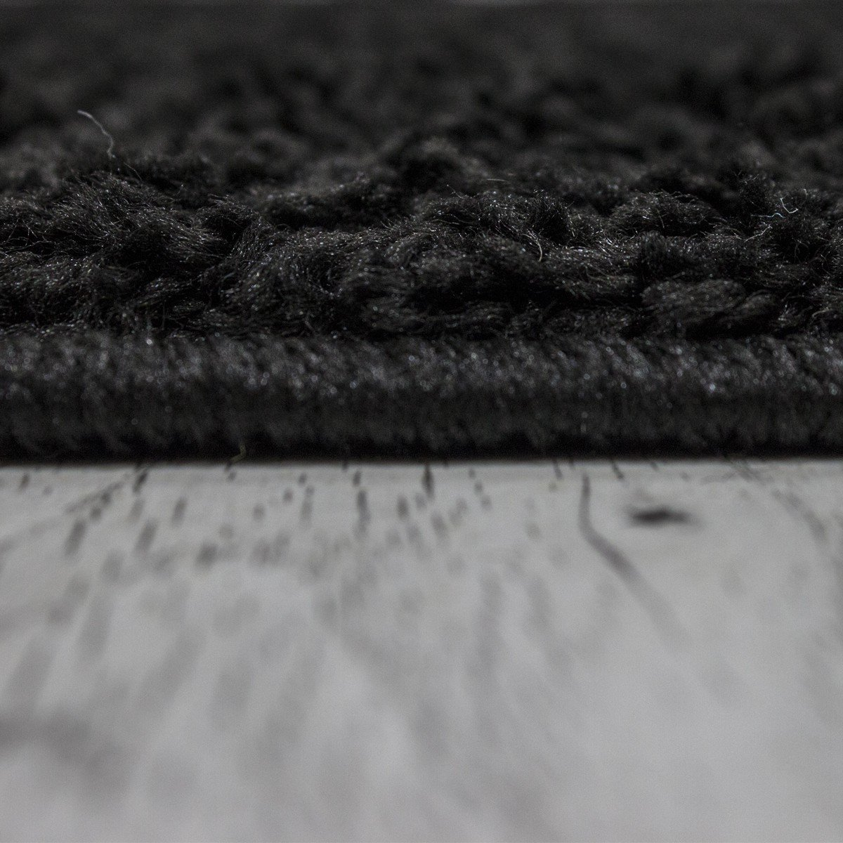 VIMODA Prime Shaggy Teppich Farbe Türkis Hochflor Langflor Teppiche Teppiche Teppiche Modern für Wohnzimmer Schlafzimmer, Maße 200 cm Quadrat 5990f5