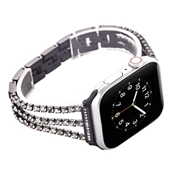 Amazon.com: Correa de reloj compatible con Apple Watch 1.496 ...