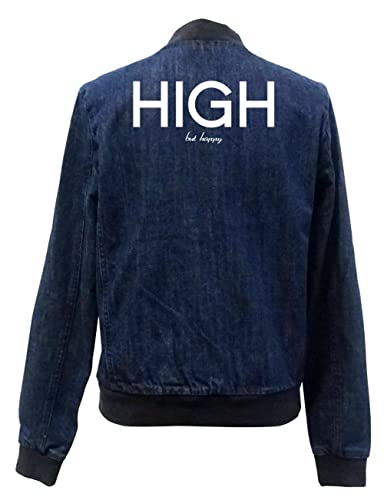 High But happy Bomber Chaqueta Girls Jeans Certified Freak