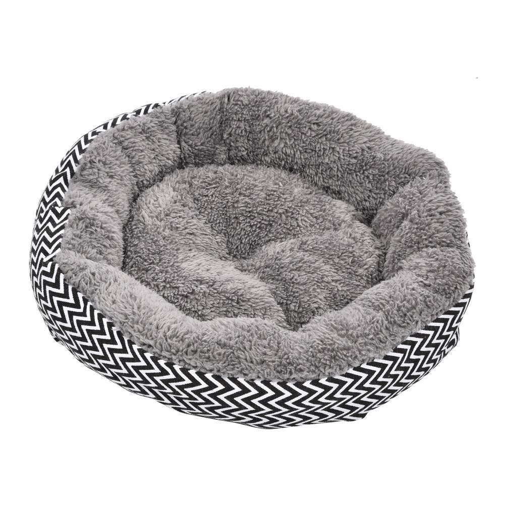 Pet Bed Dog cat Mattress Breathable Washable bite Round Bed Plush Mattress Washable