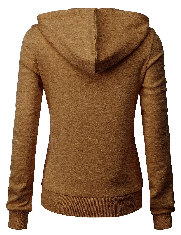 H2H Womens Casual Slim Fit Hoodie Long Sleeve of Various Colors /& Styles