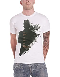 9d7f7295 Panic At The Disco T Shirt Too Weird to Live Smoke Brendon Official Mens  White