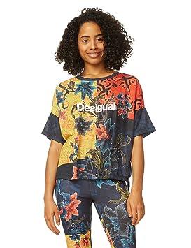 Desigual TS Geopatch 4013 Camisetas, Mujer: Amazon.es: Deportes y aire libre