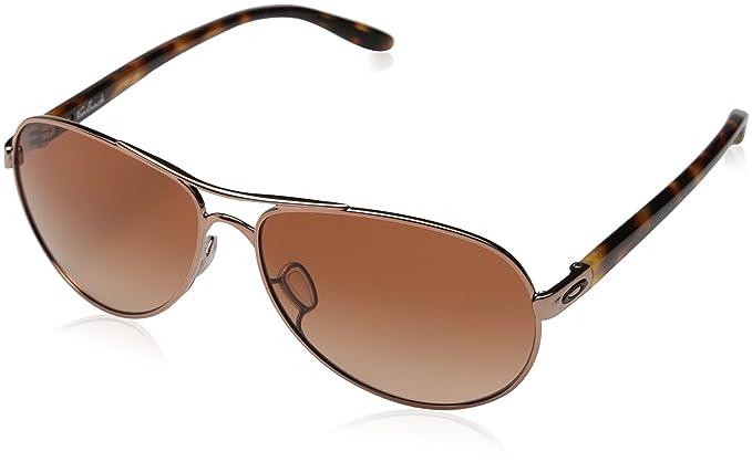aac53b92c3 Oakley Women s Feedback OO4079-01 Aviator Sunglasses