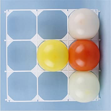 Amazon.com: CHUNYA 6 pcs/lot Balloon wall grids latex balloon ...
