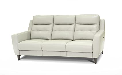Amazon.com: Jamie Living 10859 Camden Leather Power Sofa ...