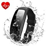 OMNiX™ 107HR Plus_Multi Sport Heart Rate Monitor, Bluetooth Smart Band and Fitness Tracker, Call Alert with Caller ID, SMS Alert and Notifications Much More Like a Smart Watch