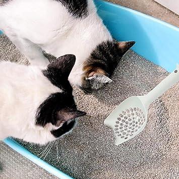 cuckoo-X Pala de Arena para Gatos camada de Arena con Gran Capacidad de Pala