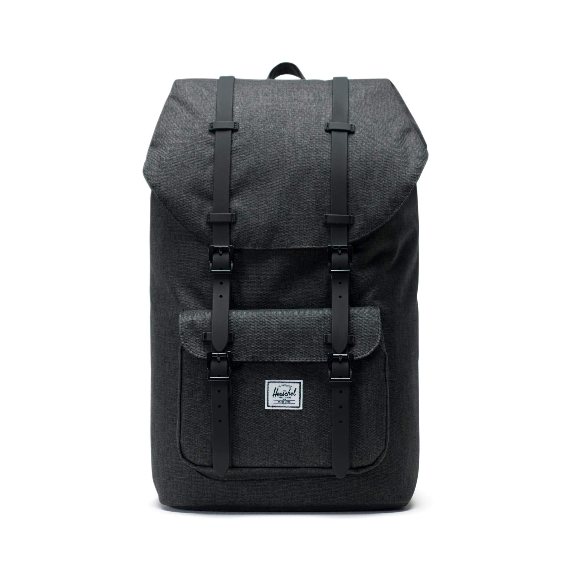 Herschel Little America Backpack Crosshatch/Black Rubber, One Size