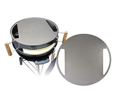 Amazon.com: Fabricado en EE. UU. kettlepizza Hornear acero ...