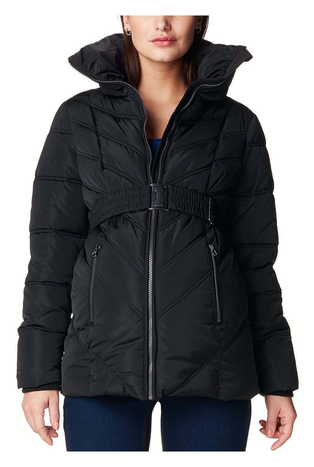 Noppies Women's Maternity Jacket Lene, Black, L by Noppies