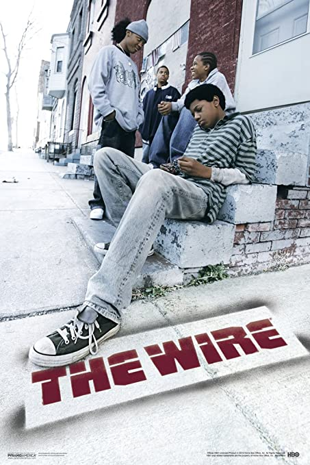 Amazon.com: Pyramid America The Wire HBO Television Poster 12x18 ...