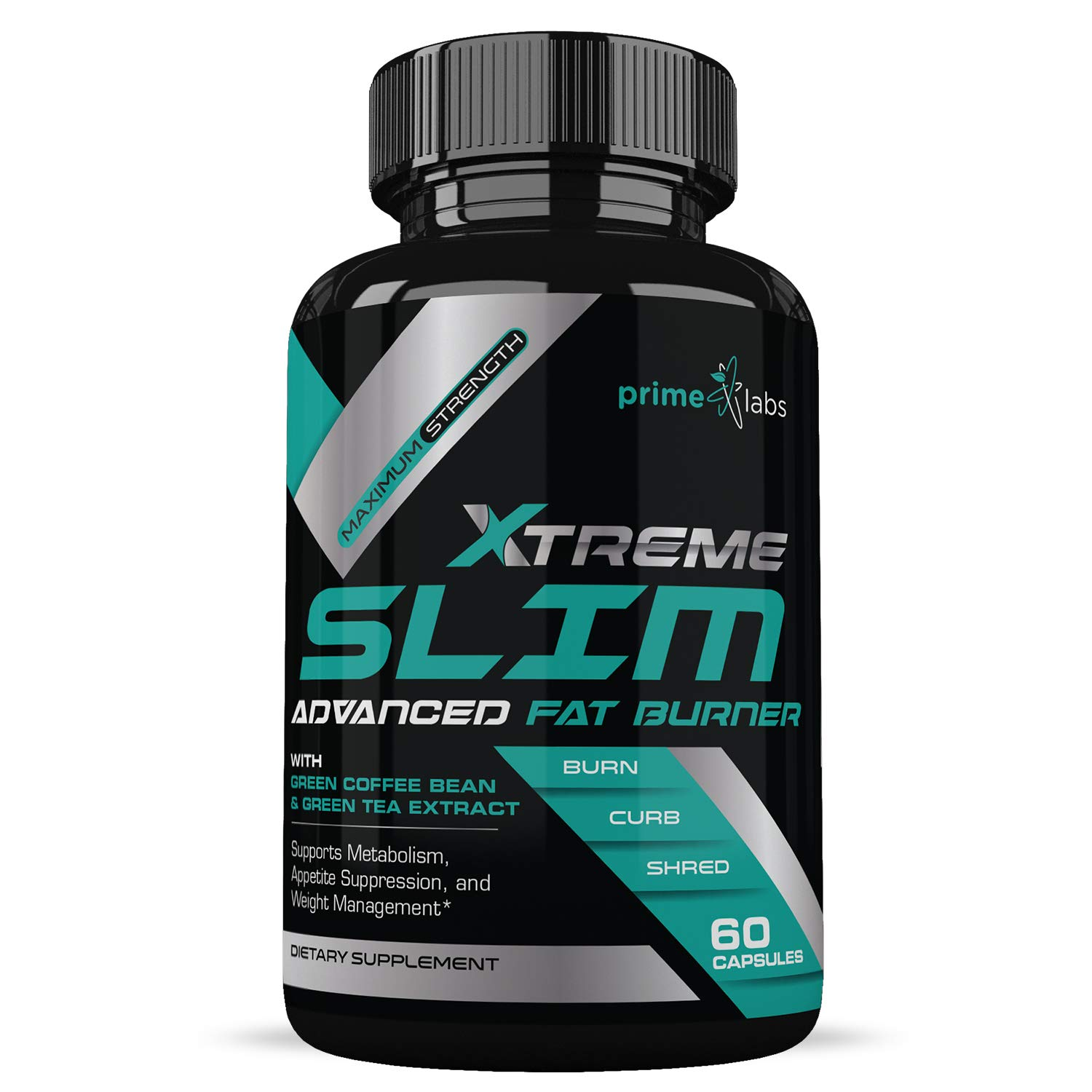 Advanced Fat Burner for Women and Men - Diet Weight Loss Pills Supplements - Natural Ingredients ft. Green Coffee Bean & Raspberry Ketone - Boost Energy and Carb Blocker - Prime Labs