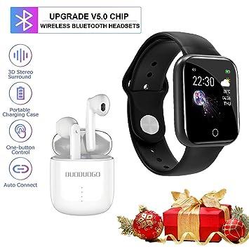 DUODUOGO Smartwatch, IP68 Reloj Inteligente Deportivo Impermeable ...