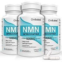 NMN tillskott med maximal styrka | 500 mg per kapsel | Kraftfulla Boost NAD + -nivåer för att stödja åldrande och mental…