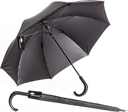 Security Umbrella Defense Umbrella Defense Walking Cane Brown German woodhandle